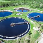 Municipal wastewater-treatment